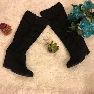 Mia Biscuit Heeled Boots
